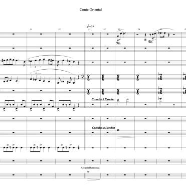 Conte Oriental full score marie extrait 4